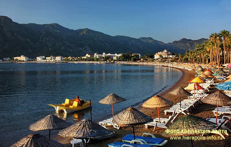 Где в Турции галечные пляжи? 100
