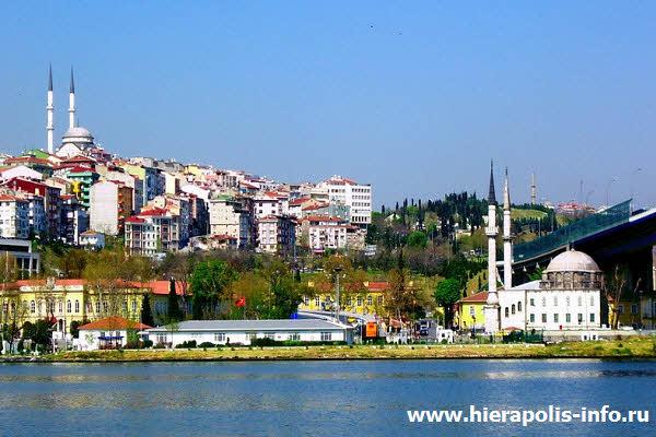 Округ Стамбула Эюп расположен