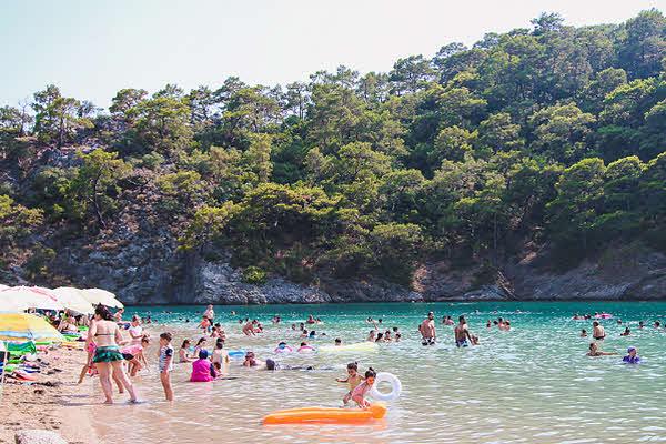 Фото пляж Голубая лагуна Олюдениз 2016