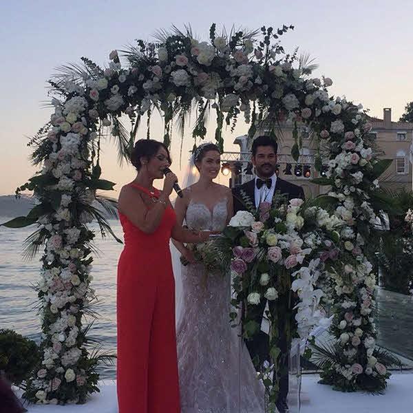 Фото свадьбы Бурак Озчивит и Фахрие Евджен