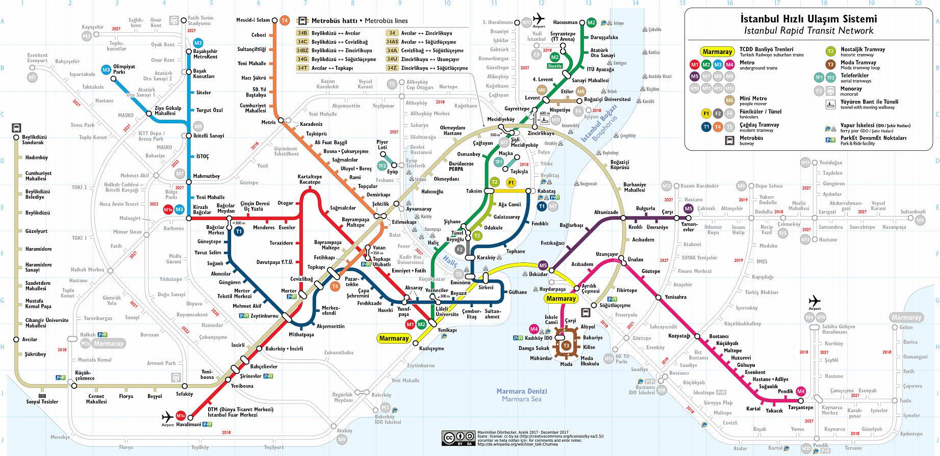 карта метро 2019 схема