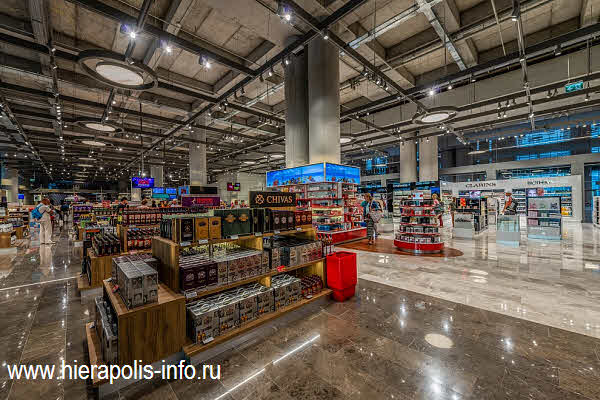 магазин  Unifree Duty Free в аэропорту Даламан