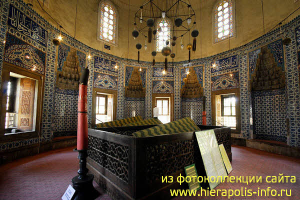 МАВЗОЛЕЙ ХЮРРЕМ СУЛТАН/Haseki Hurrem Sultan Turbesi ...