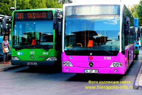 Подвижной Автобусы в Стамбуле