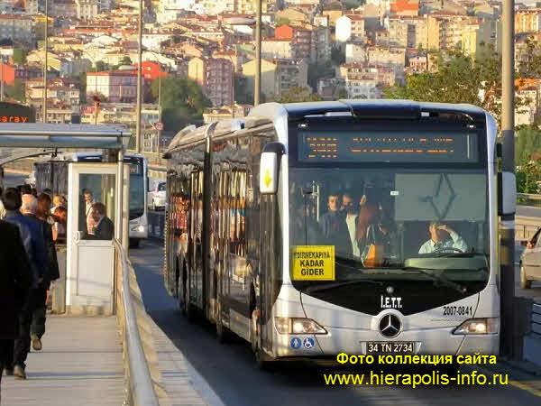 Метробус в Стамбуле