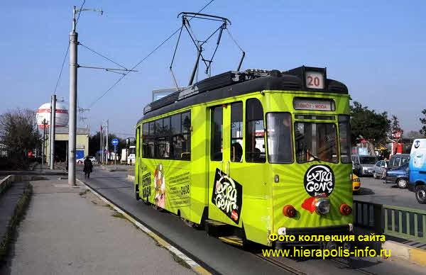 Трамваи в Стамбуле