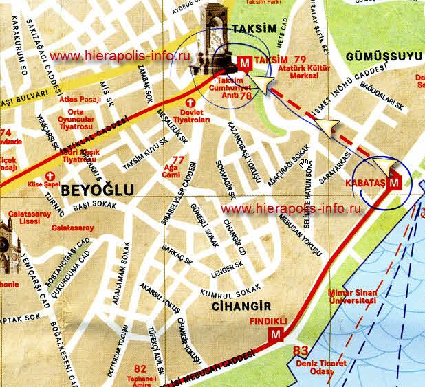 метро тоннель в Стамбуле